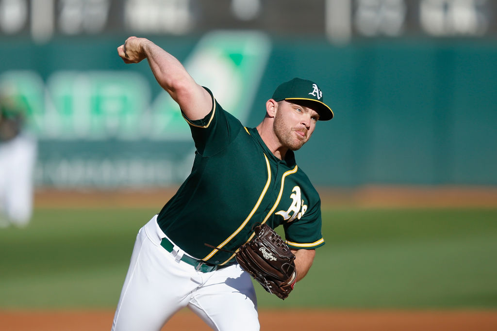 Pitcher Liam Hendriks and the A's Won't Miss the Warriors and Raiders at All