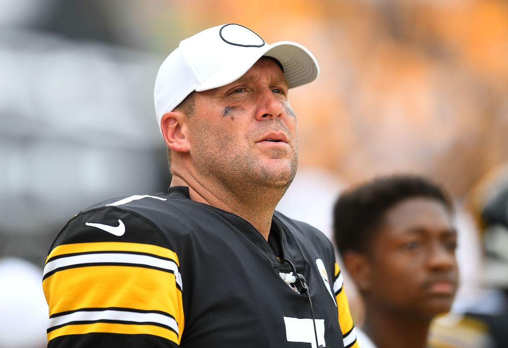 Steelers' quarterback Ben Roethlisberger