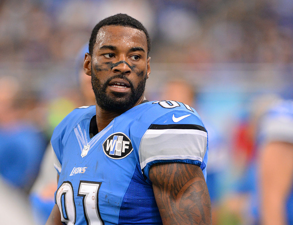 Former Detroit Lions wide receiver Calvin Johnson