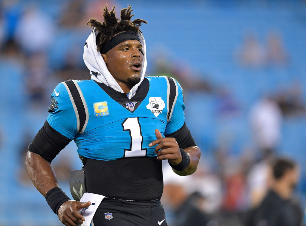 Panthers quarterback Cam Newton has struggled with injuries