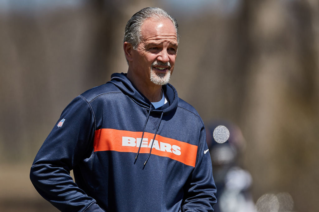 Chuck Pagano, the new Chicago Bears defensive coordinator