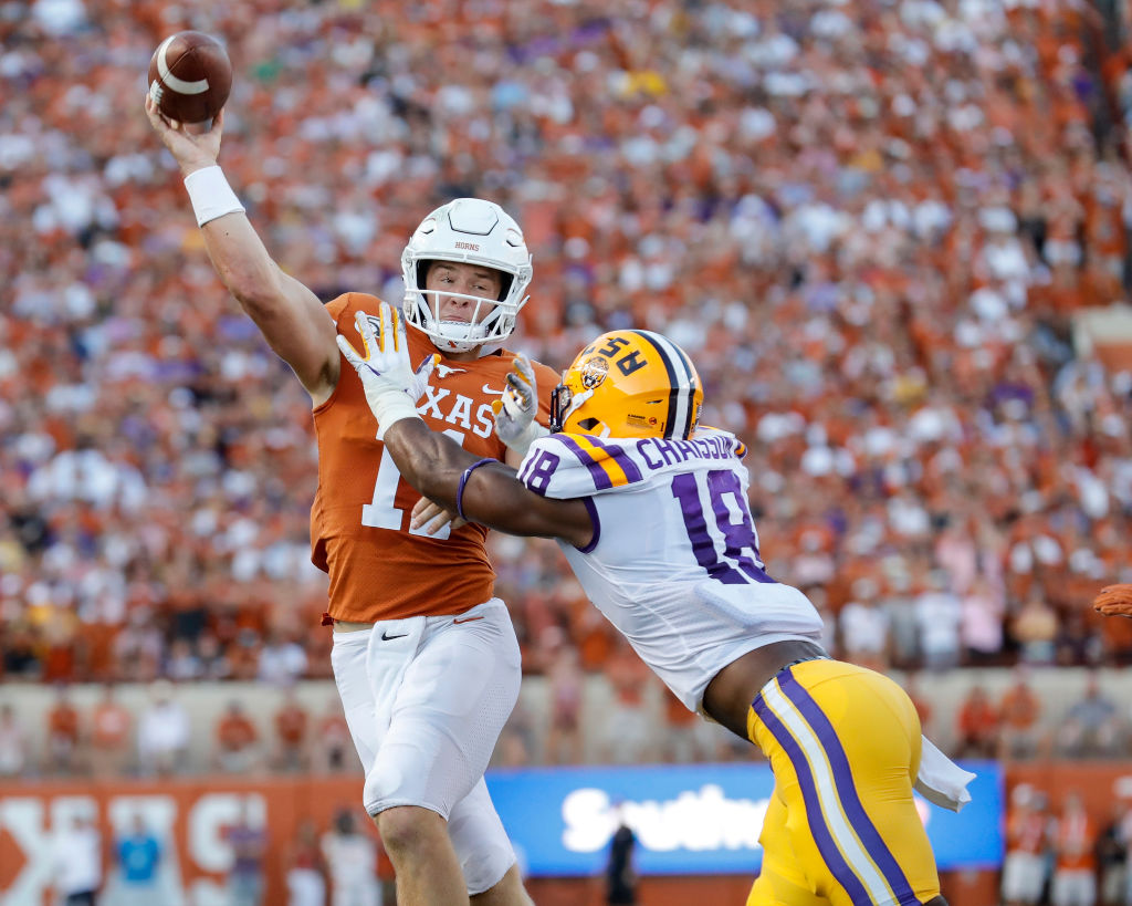 Texas lost a nonconference game to LSU and has several challenging games on the schedule, so could the Longhorns finish the 2019 college football season unranked?