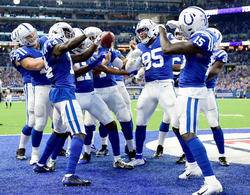 Colts players