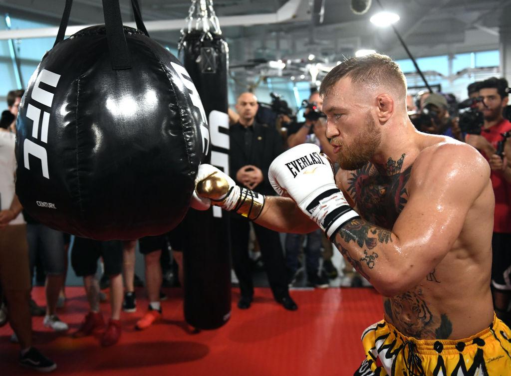 Conor McGregor punch