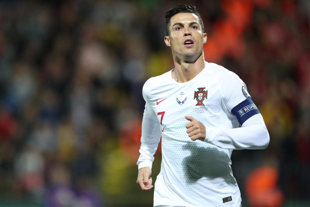 half off 03f1f cd3d4 Cristiano Ronaldo Talks Retirement and How Long He Expects ...