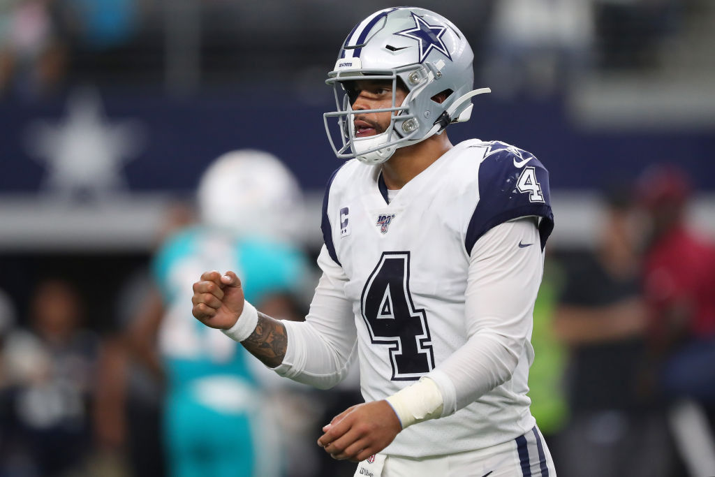 cheap for discount 3b4e7 91ed9 NFL: Is Dak Prescott Playing Himself Into a Record-Breaking ...