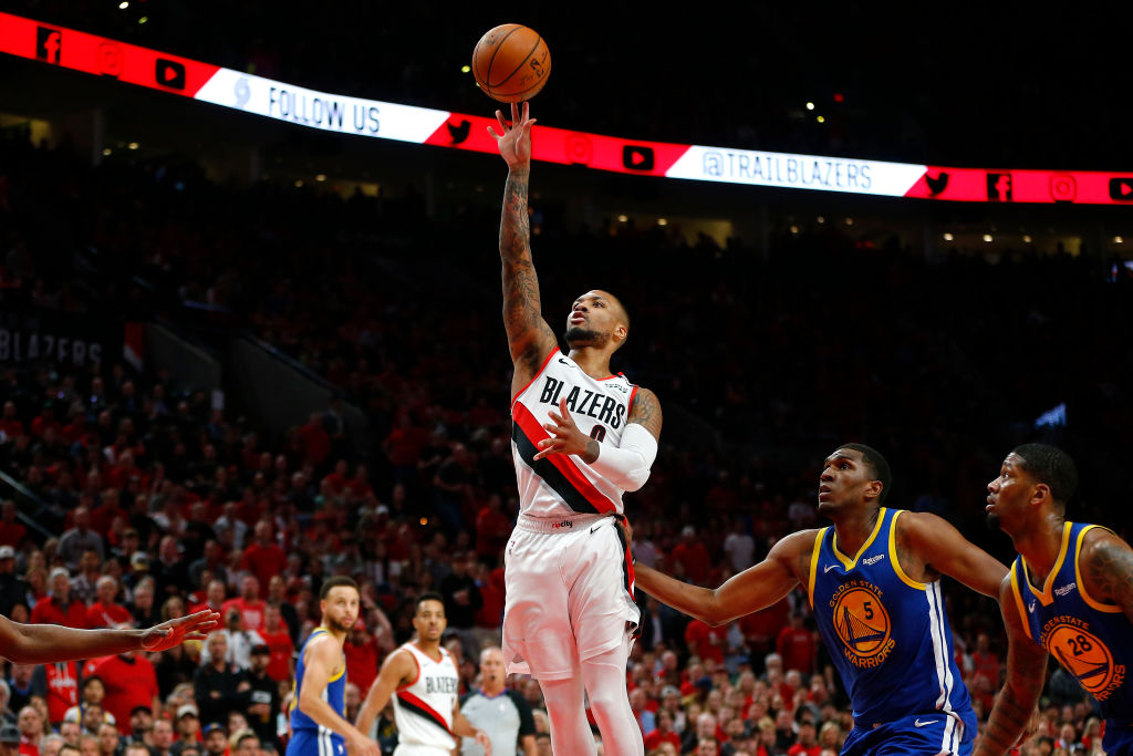 Damian Lillard is still in awe of what the Warriors did against the Trail Blazers in the 2019 NBA playoffs.