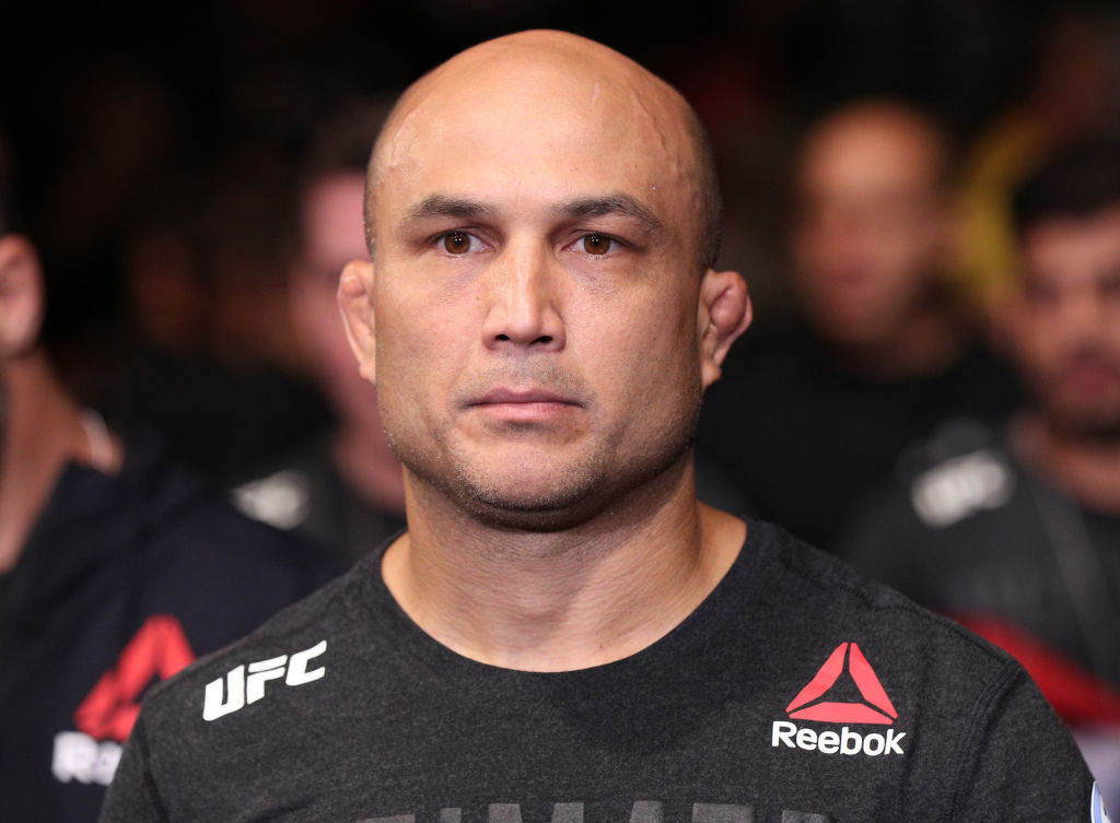 B.J. Penn won't ever fight in the UFC again according to Dana White.
