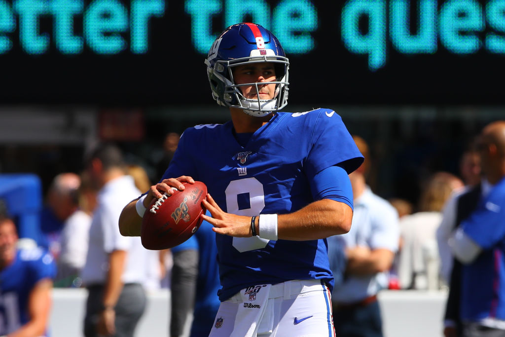 New York Giants quarterback Daniel Jones