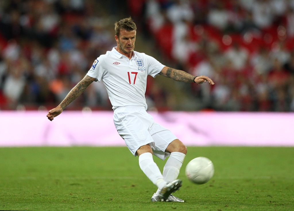 David Beckham is an English soccer legend, but only time will tell if he coaches the national team.