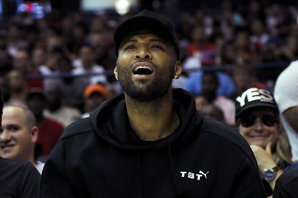 NBA star DeMarcus Cousins