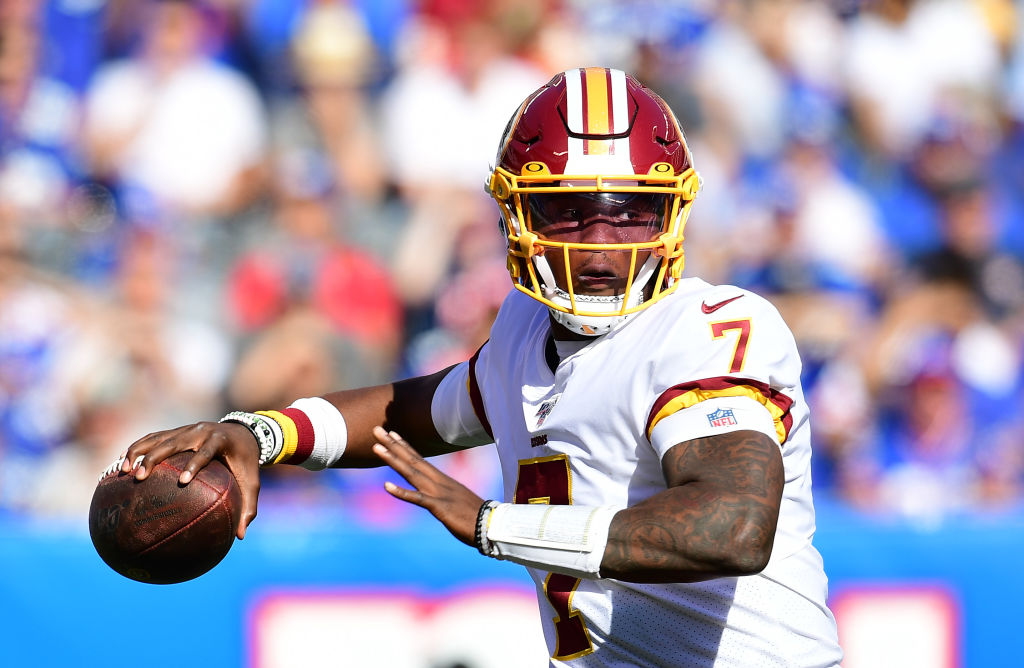 Redskins rookie quarterback Dwayne Haskins makes his NFL debut against the New York Giants.