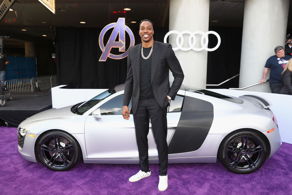 Dwight Howard now has a Lakers- and Avengers-themed car for his return to Los Angeles.