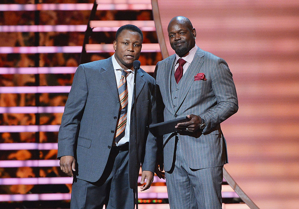 Emmitt Smith and Barry Sanders