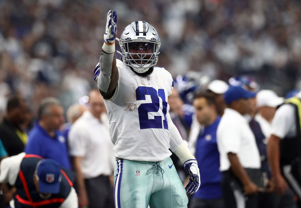 Ezekiel Elliott has a new contract that makes him one of the highest-paid Cowboys players.