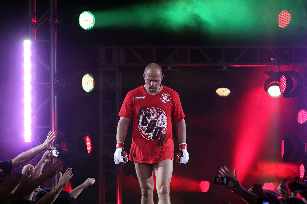 Fedor Emelianenko has never fought in the UFC