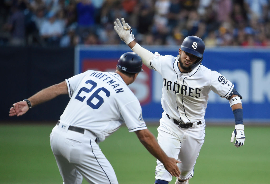 The Padres Fernando Tatis Jr. (right) still had an impressive rookie season, even if it was cut short.