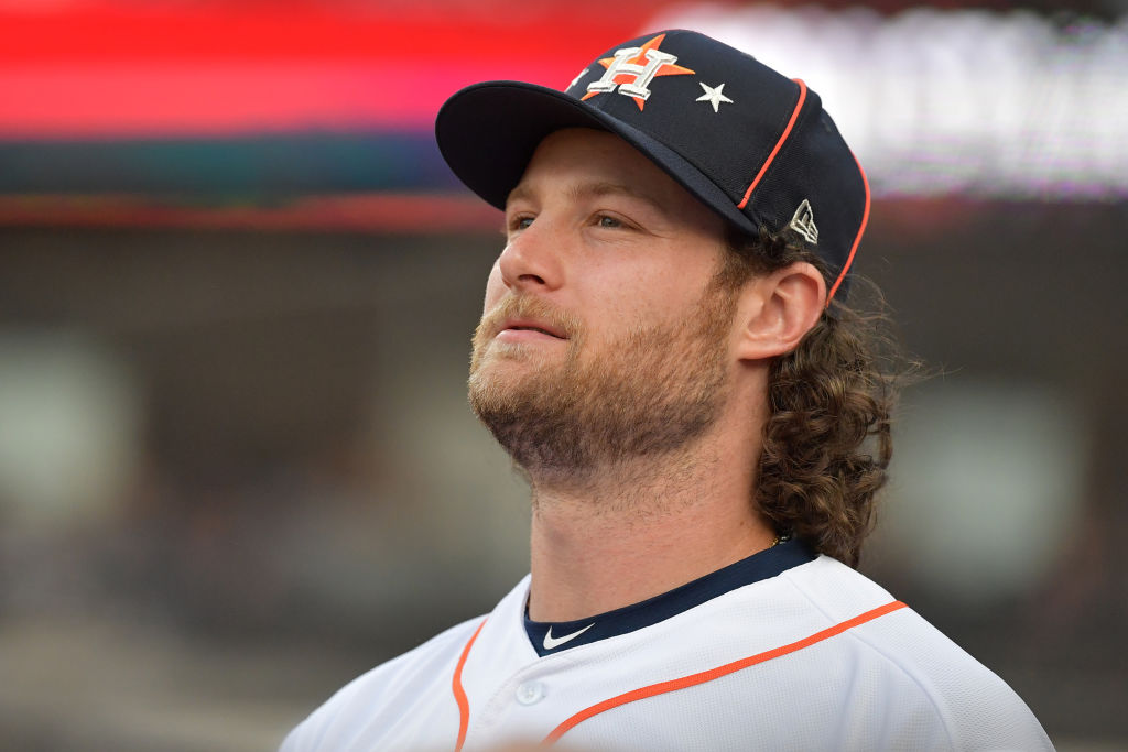 2019 MLB All-Star Game - Gerrit Cole #45 of the Houston Astros
