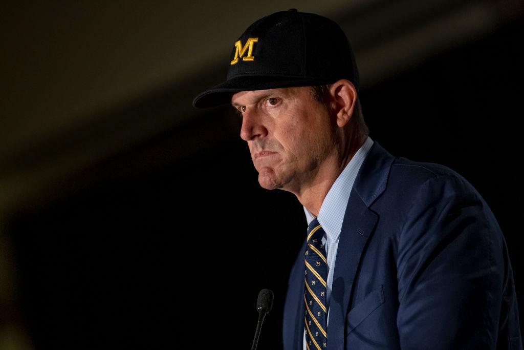 Michigan Wolverines head coach Jim Harbaugh