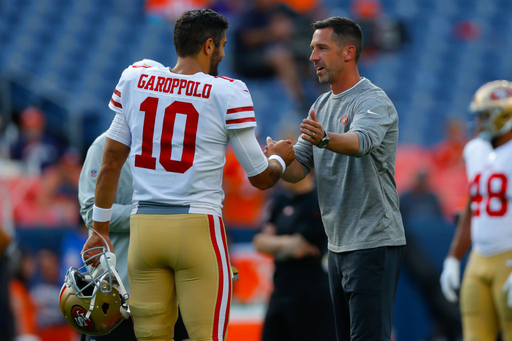 Jimmy Garoppolo and Kyle Shanahan have something cooking in San Francisco