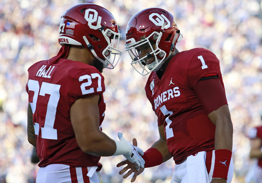 2 Takeaways From Jalen Hurts' Six-Touchdown Oklahoma Sooners Debut