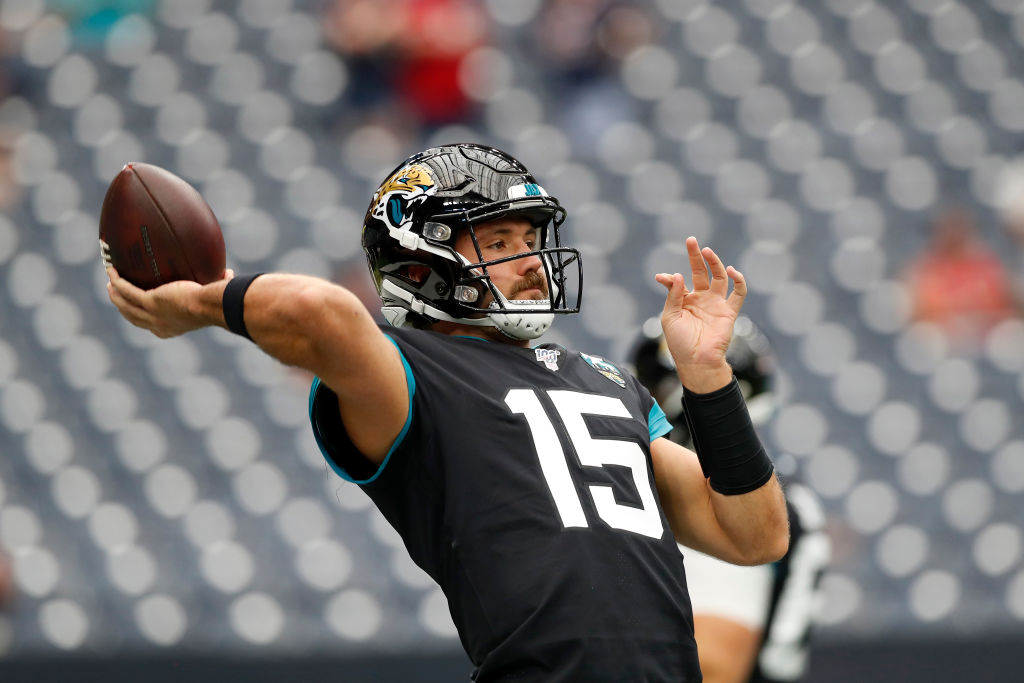 Gardner Minshew #15 of the Jacksonville Jaguars