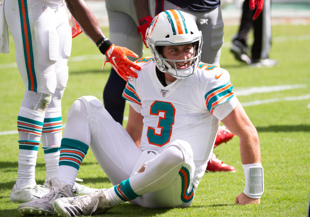 It's going to be a long season for Josh Rosen and the Miami Dolphins
