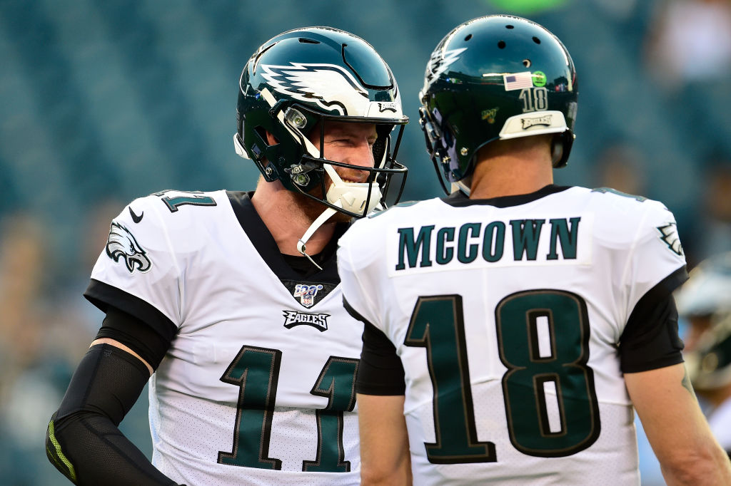 Take advantage of a healthy Carson Wentz in action Sunday