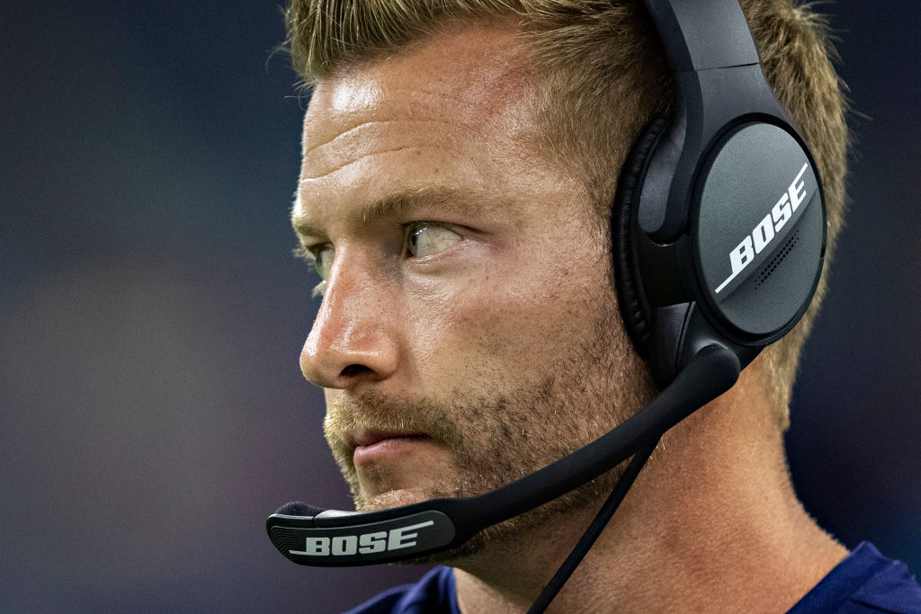 Sean McVay has one of the game's best offensive minds