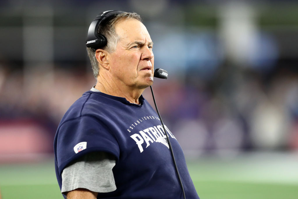 Even a team with the potential to have a perfect season won't get a smile out of Bill Belichick