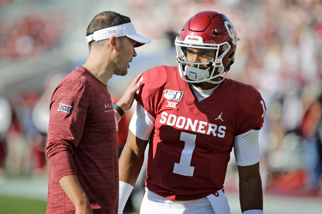 Lincoln Riley and Jalen Hurts are clicking in Oklahoma