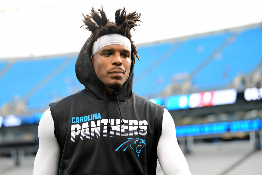 Cam Newton's days with the Carolina Panthers could be numbered