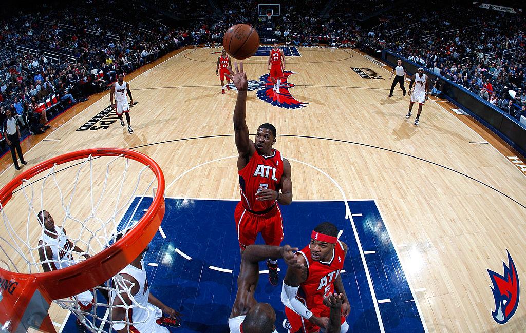 Joe Johnson enjoyed the best seasons of his NBA career with the Atlanta Hawks