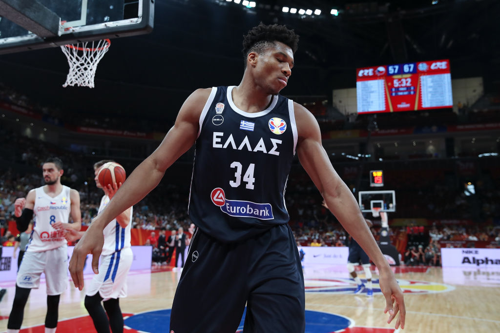 Giannis Antetokounmpo stuggled with Greece at the FIBA World Cup, but NBA fans shouldn't be worried about it being a bad sign for the MVP.