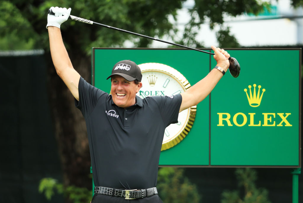 BMW Championship - Phil Mickelson of the United States