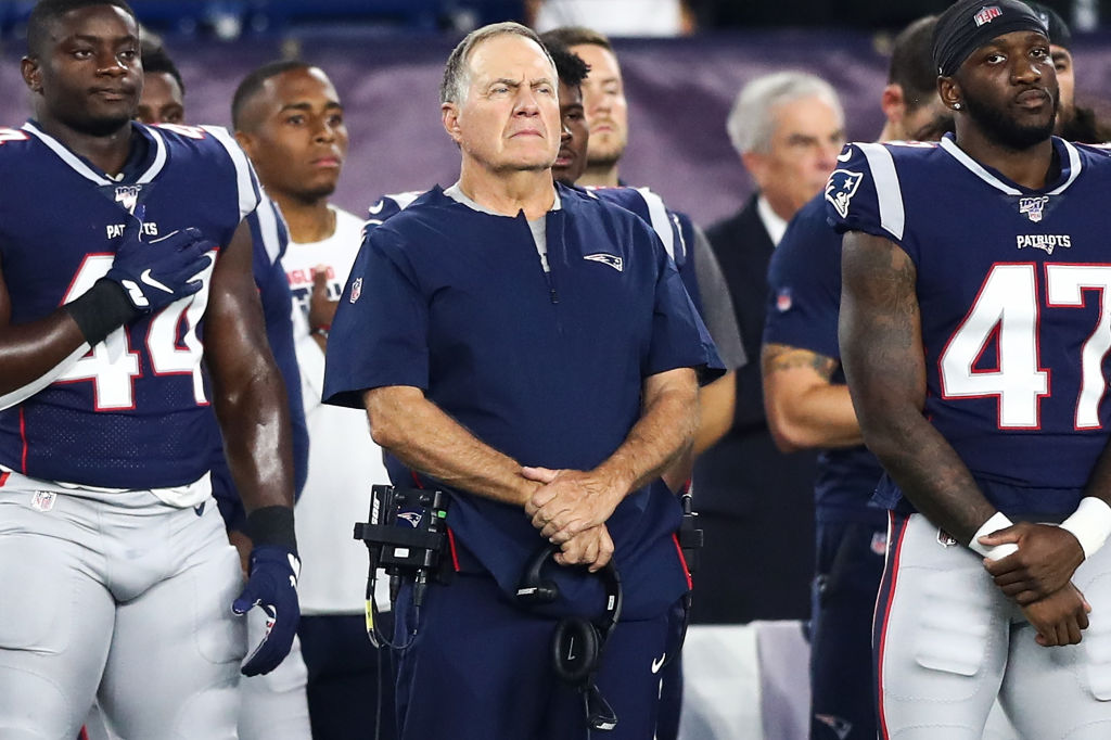 New England Patriots Bill Belichick