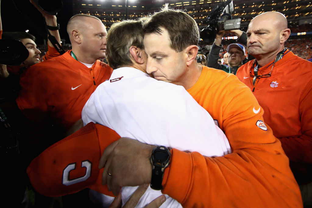 Dabo Swinney Would Never Actually Leave Clemson Over Fair Pay to Play