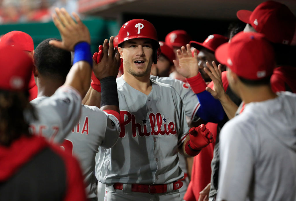 Phillies catcher J.T. Realmuto quietly put together the best season of his career in 2019.