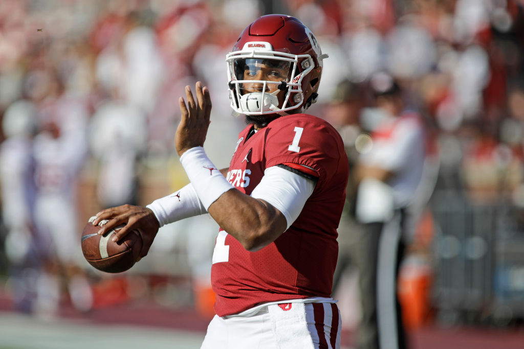 Does Jalen Hurts have to worry about losing his starting QB job with the Oklahoma Sooners?