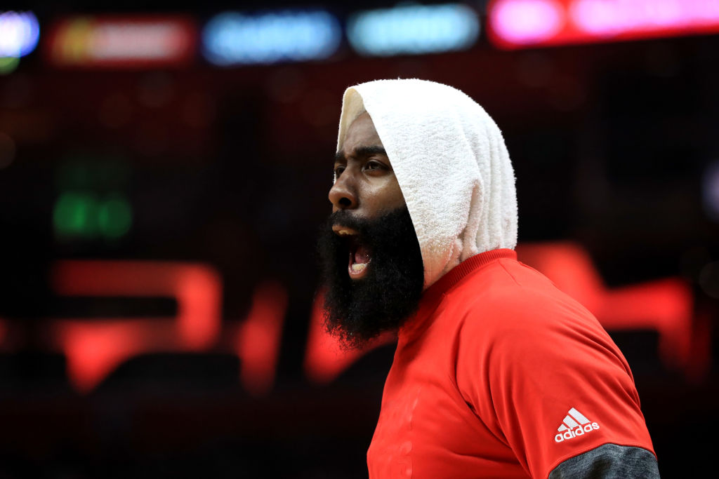 James Harden came up with a flimsy excuse for why he didn't win NBA MVP in 2019.