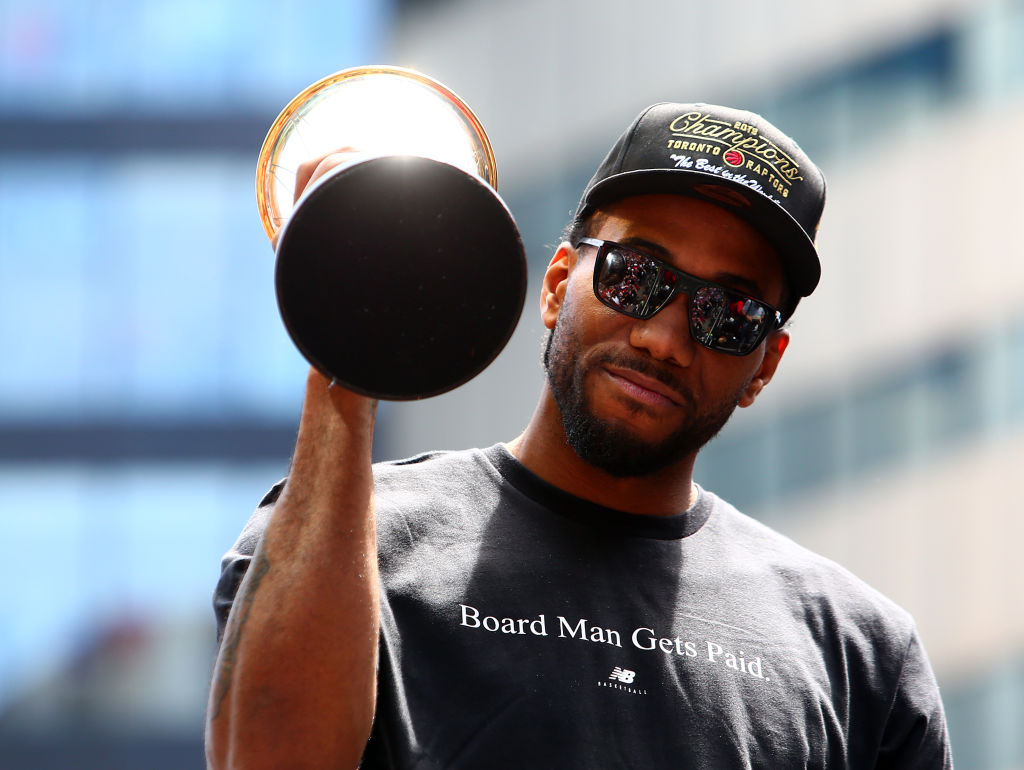 Kawhi Leonard will try to build on his championship campaign
