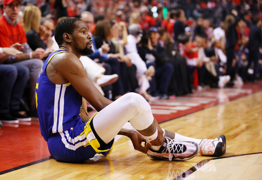 Kevin Durant NBA injury