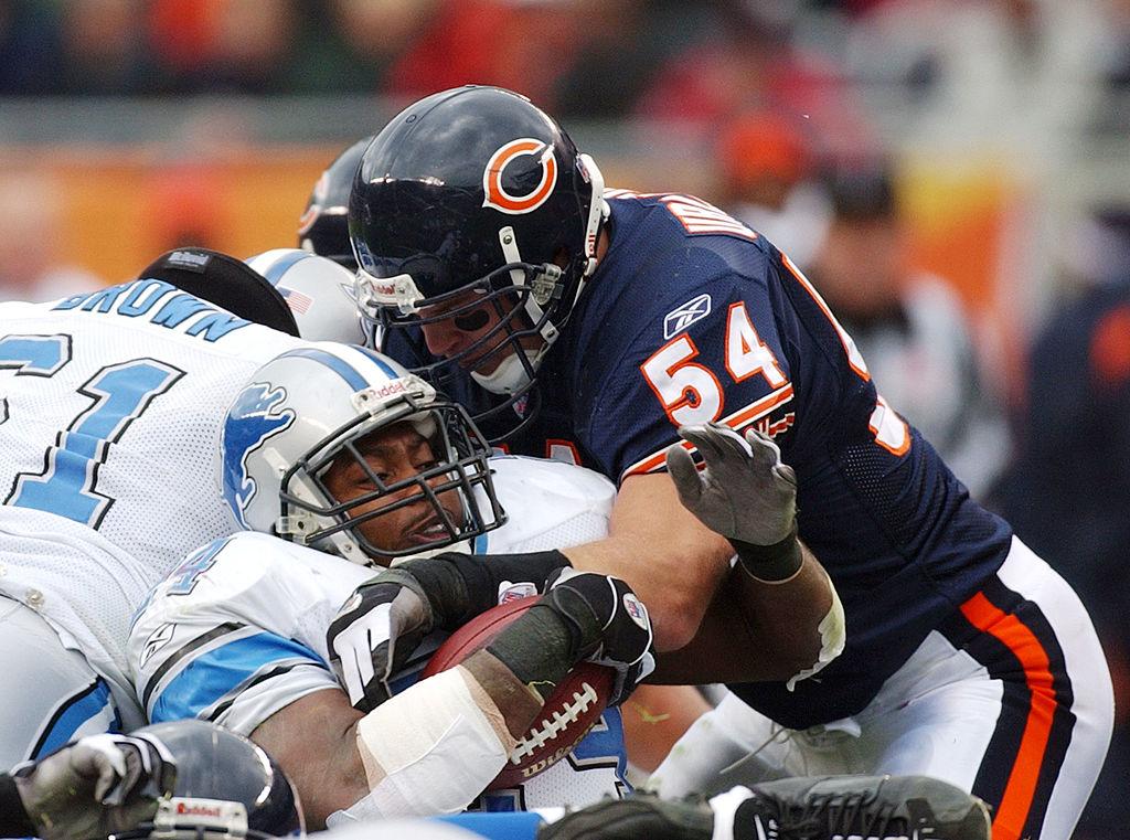 Detroit Lions versus Chicago Bears Urlacher stops Bryson