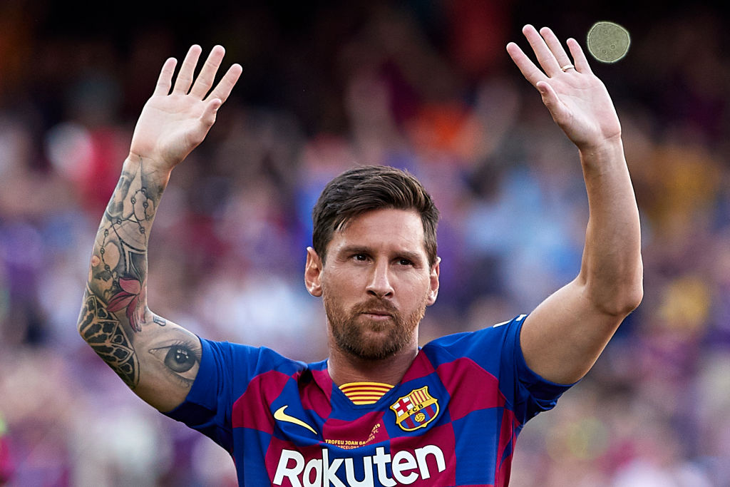 Lionel Messi left Barcelona to play in Norway? Well, sort of.