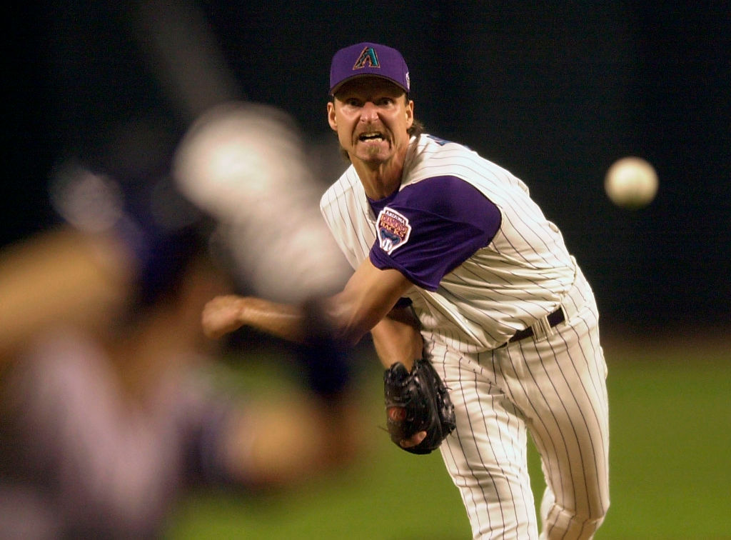 MLB strikeout specialist Randy Johnson