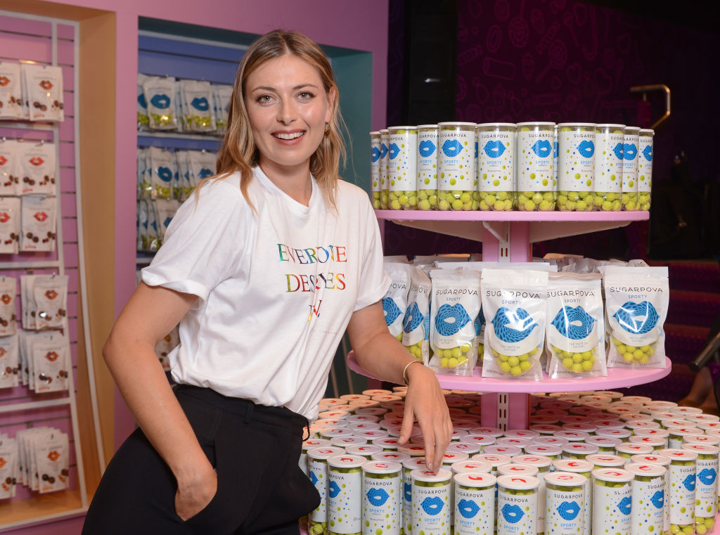 Sugarpova by Maria Sharapova Launches Sugarpova At Kingdom Of Sweets