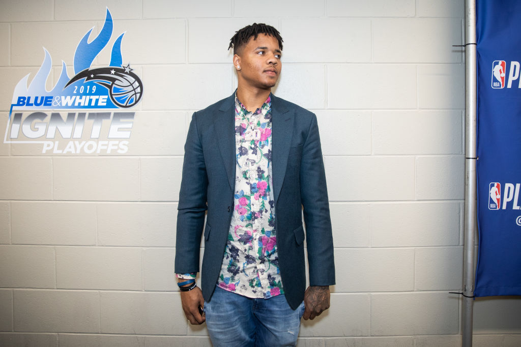 Markelle Fultz posing in a suit