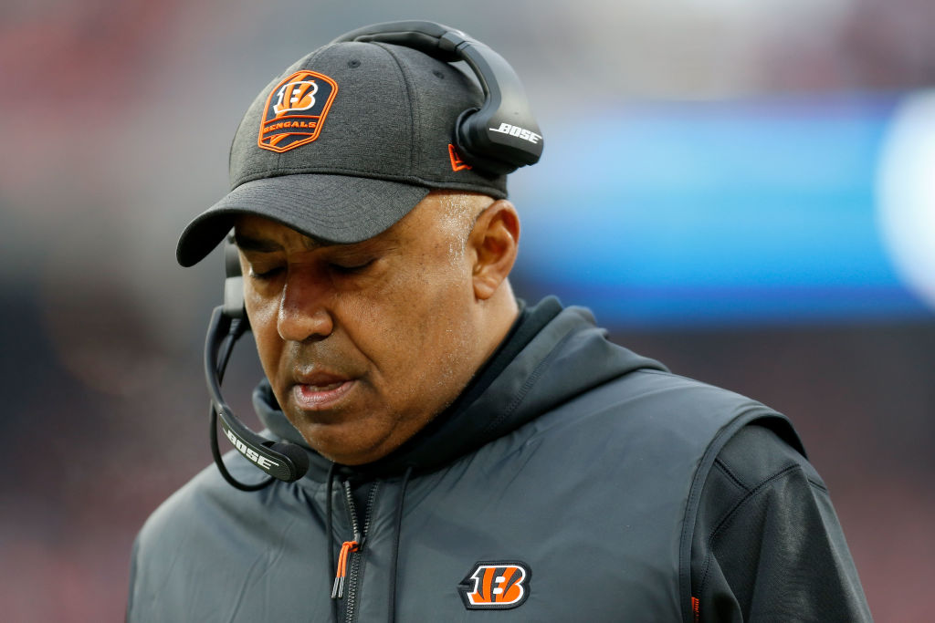 Marvin Lewis is doing just fine after being fired by the Bengals.