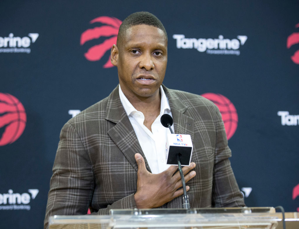 Raptors general manager Masai Ujiri