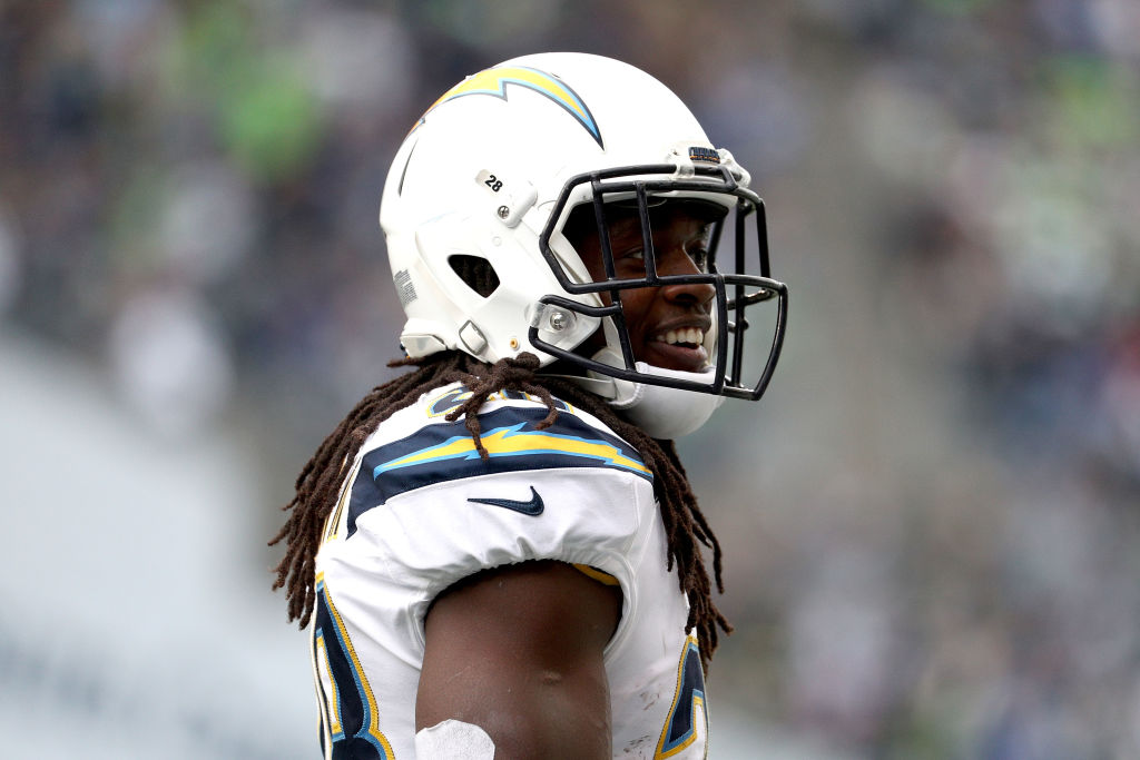 Chargers running back Melvin Gordon